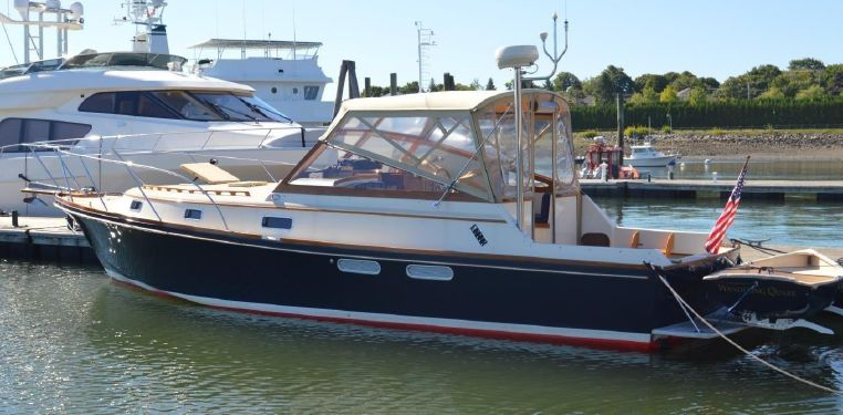 1990 Little Harbor Custom 34 Express Cruiser With Propeller Drives