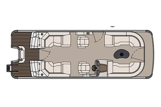 2017 Avalon Catalina Platinum Quad Lounge - 25'