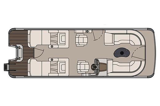 2017 Avalon Catalina Platinum Rear Lounge - 25'