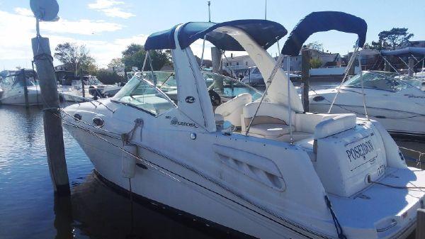 Sea Ray 26 SunDancer Port Side