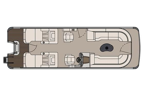 2017 Avalon Catalina Platinum Rear Lounge - 27'