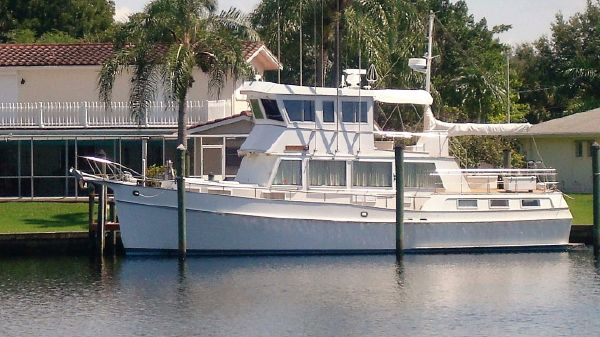 Grand Banks 49 Motoryacht Yacht Profile