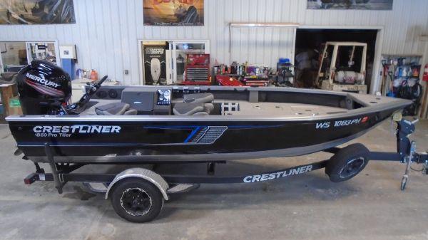 Crestliner 1850 Pro Tiller