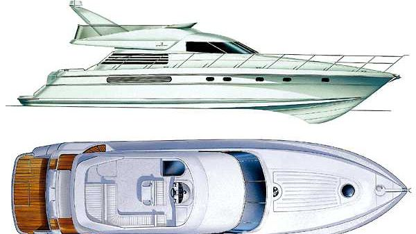 Fairline Squadron 59 Manufacturer Provided Image