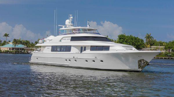 Westport Motoryacht Profile View