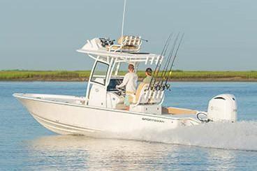 Sportsman Masters 267 Bay Boat image