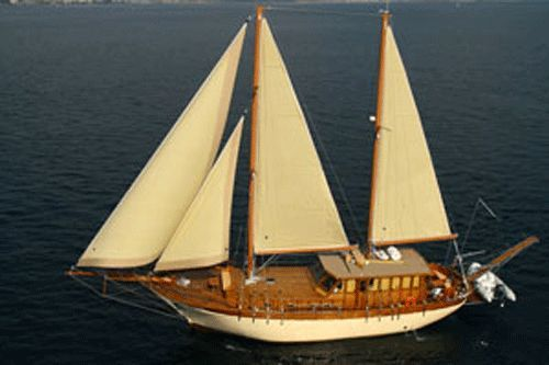 2006 classic motor sailer athens, greece - approved boats