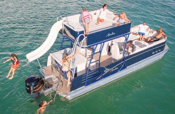 2018 Avalon Catalina Platinum Cruise Funship - 25'