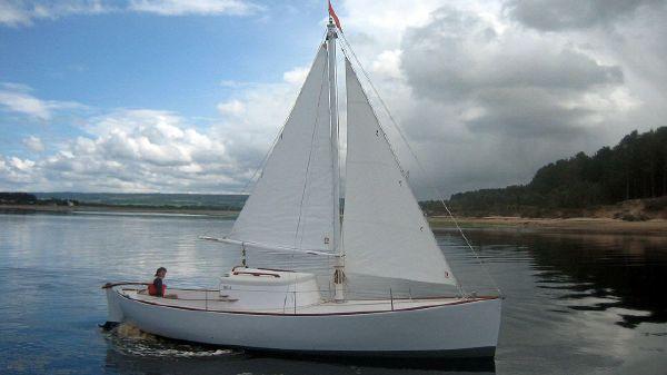 Custom Wooden Motor Sailer