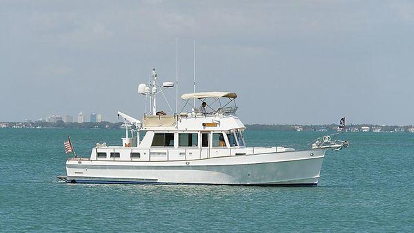 Grand Banks 46 Classic Starboard Profile