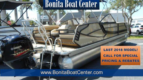 Crest Continental 250 SLR2 Pontoon Boat