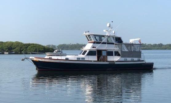 Gulfstar 60 Custom Long Range Cruiser