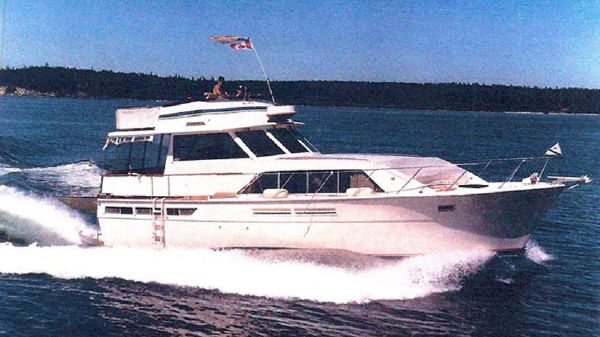 Pacemaker Tricabin Motoryacht