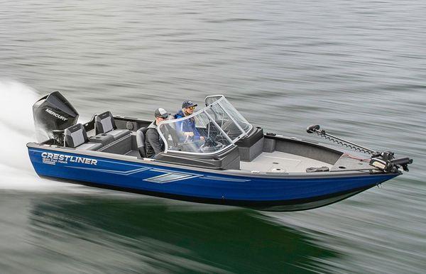 2019 Crestliner 1850 Fish Hawk WT JS