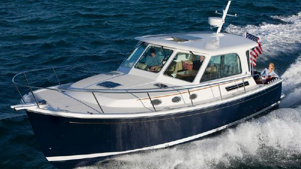 Back Cove Yachts 37 Hardtop Express Profile