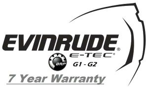 Evinrude  E-TEC G1 & G2 25-300hp ★ 7 Years of Factory Backed Coverage on all E-TEC & E-TEC G2 Engines