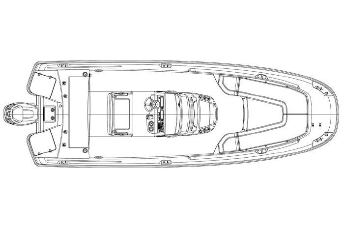 2019 Boston Whaler 240 Dauntless Williams Bay, Wisconsin