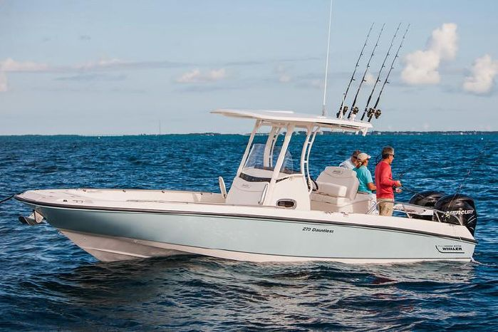 2019 Boston Whaler 270 Dauntless Kilmarnock, Virginia - Chesapeake