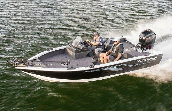 2019 Crestliner 1650 Fish Hawk SC JS