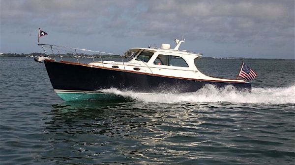 Hinckley 36 Picnic Boat Extended Pilothouse