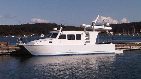 Custom Boden Designed Aluminum Power Catamaran