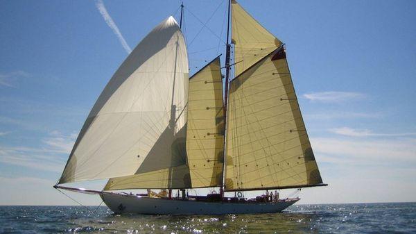 Classic Sailing Schooner Gaff Rigged