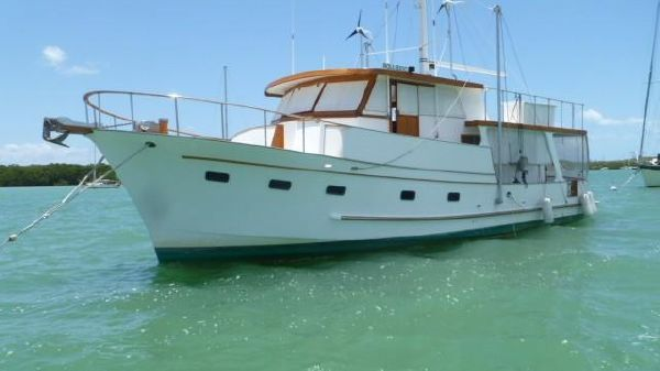 Marine Trader 49 Raised Pilothouse 1981 Marine Trader 49 Raised Pilothouse