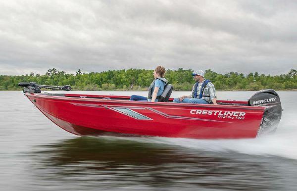 2019 Crestliner 1750 Pro Tiller