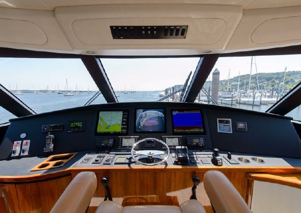 Viking 62 Enclosed Bridge image