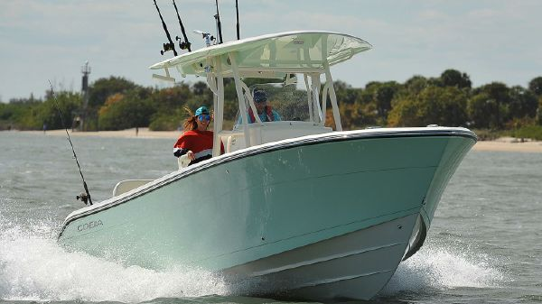 Cobia 261 Center Console Manufacturer Provided Image