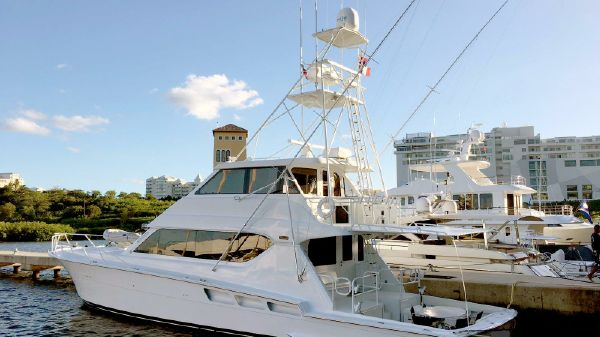 Hatteras EB Enclosed Flybridge