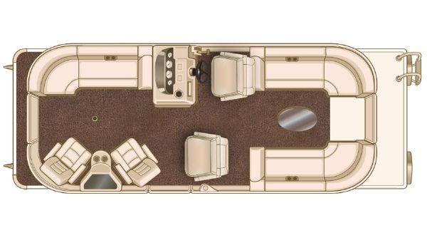 Sylvan Mirage Cruise 8524 LZ Port LE Manufacturer Provided Image