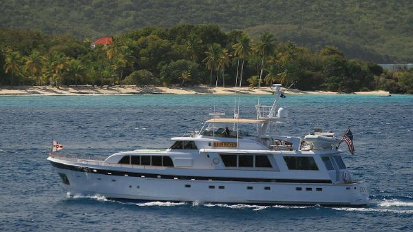 Cheoy Lee Raised Pilot House Motor Yacht