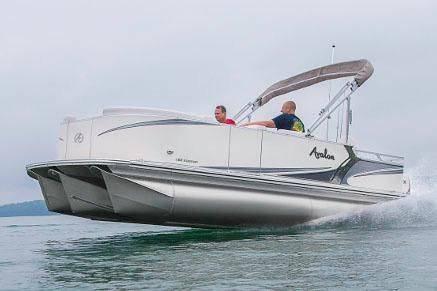 2017 Avalon LSZ Rear Fish - 20'