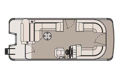 2017 Avalon LSZ Cruise Rear Bench - 22'