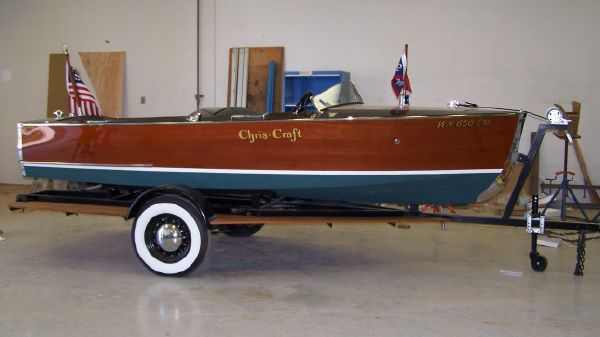Chris Craft Sportsman Runabout Restored