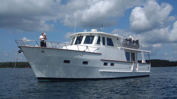 DeFever 45' Pilot House Magnificent 45' DeFever Pilothouse