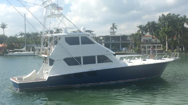 Hatteras 65' ENCLOSED FLYBRIDGE