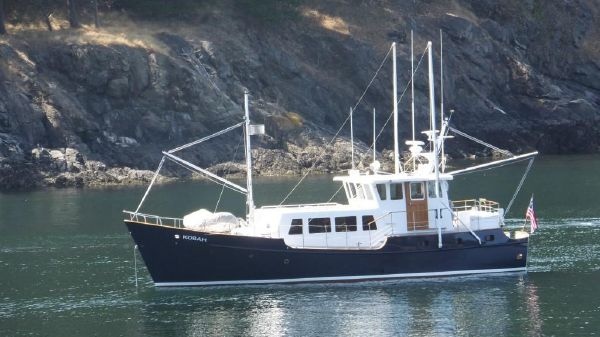 Custom Ostlund Steel Long Range Trawler