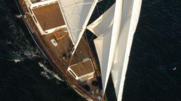 Custom 45m Custom Motor Sailer On the water