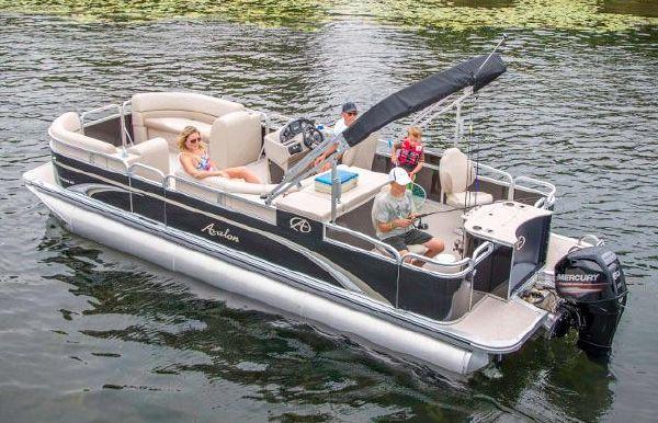 2017 Avalon GS Rear Fish - 23'