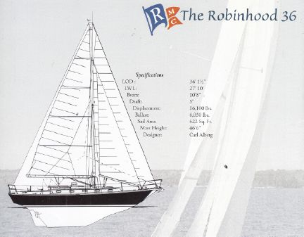 Robinhood 36 Cutter (Hull #11) image
