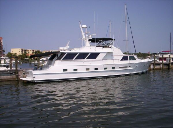 1980 Broward Raised Pilothouse