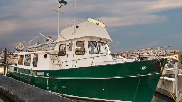Pacific Trawler Pilothouse