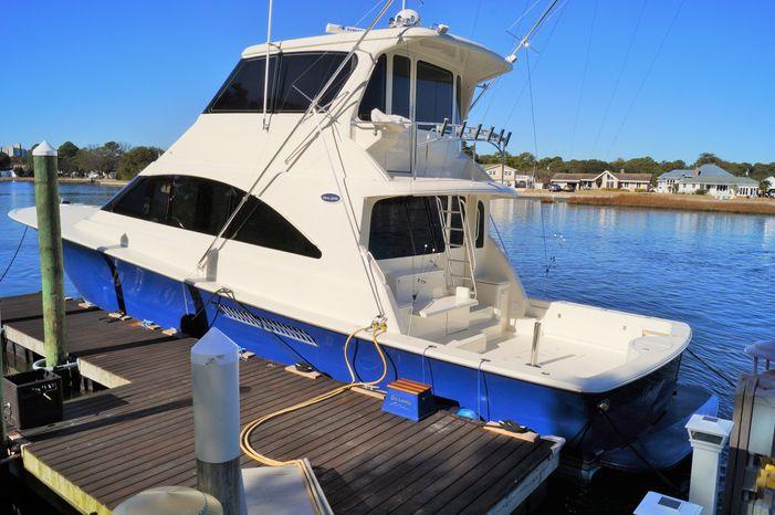 2002 Ocean Yachts 62 Enclosed Bridge Super Sport