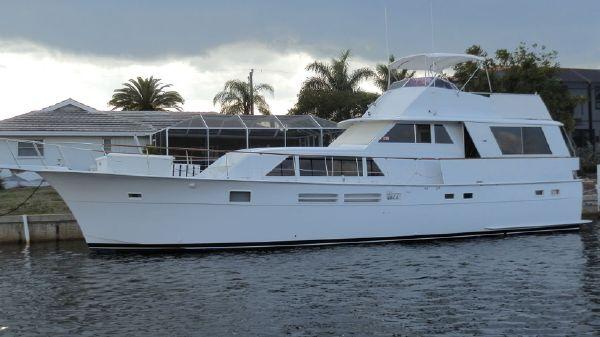 Hatteras 58 Motor Yacht PORT PROFILE