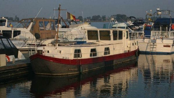 Barge Dutch Canal Boat