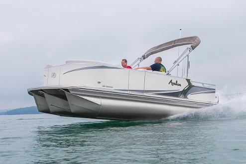 2018 Avalon LSZ Rear Fish - 20'