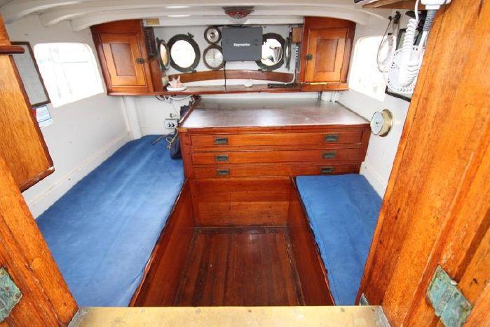 1939 J. ALDEN-PENDLETON SCHOONER 80' For Sale Maine