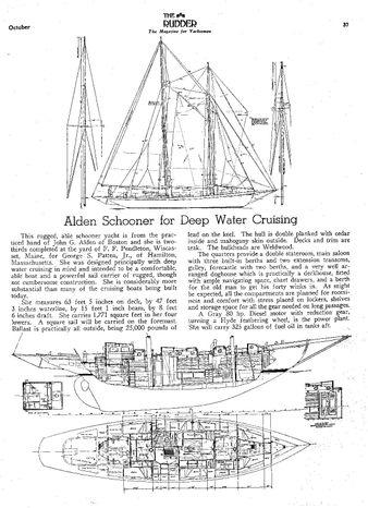 1939 J. ALDEN-PENDLETON SCHOONER 80' Brokerage Connecticut